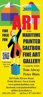 2019 Art at the Maritime Painted Saltbox Fine Art Gallery