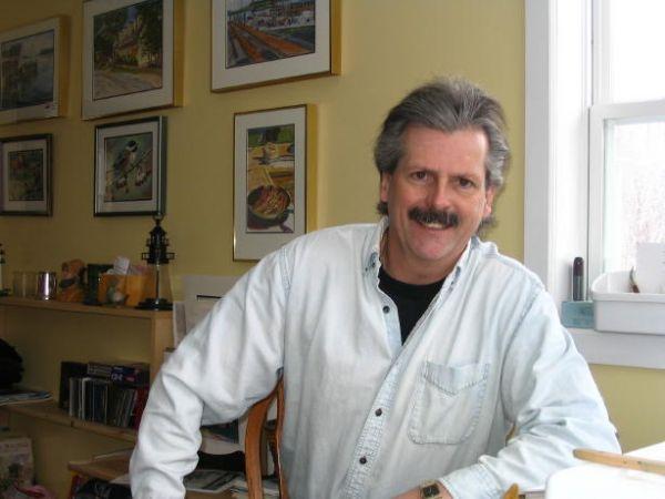 Dennis Curran Watercolour