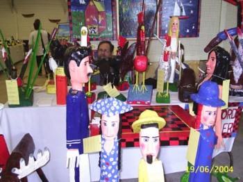 Bradford Naugler's Folk Art