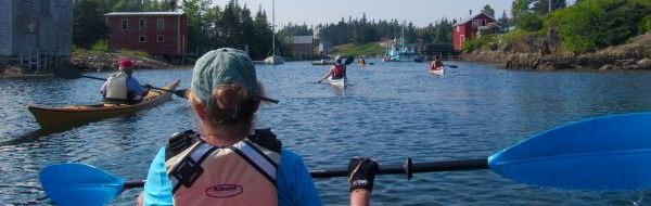 Kayaking in Lunenburg Region